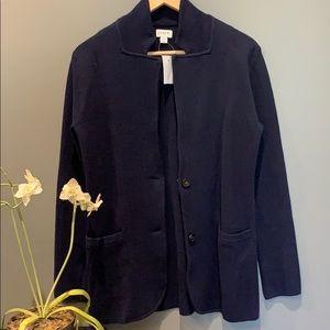 NWT J. Crew sweater blazer